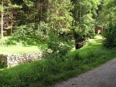 Anciennes mines d'argent du massif de Neuenberg -  Entrée de la mine Gabe Gottes 194