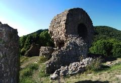 Ruines du château d'Engelbourg -  DSC_5814 - DSC_5816