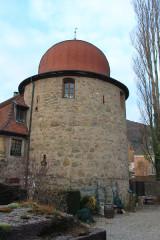 Ancienne enceinte - Français:   Thann, Haut-Rhin, Alsace, France