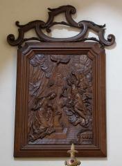 Eglise catholique Sainte-Anne - Alsace, Haut-Rhin, Église Sainte-Anne de Turckheim (PA00085709, IA68003621). Relief