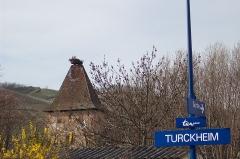Porte de France dite Porte de Colmar ou Niedertor - English: View of Turckheim's