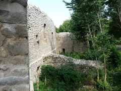 Ruines du château de Pflixbourg - English:   Dépendances du Château du Pflixbourg, Wintzenheim, Haut-Rhin.
