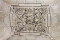Plate-forme et constructions attenantes de la pièce 380 -  Le palais du Louvre à Paris.