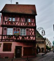 Maison dite Maison Kern - Deutsch: Altstadt von Colmar, Elsass, Frankreich
