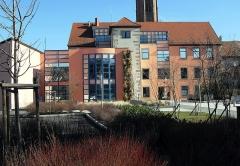 Ancien hôtel de l'Intendant d'Alsace, dit ancienne Ecole des Filles - Français:   La mairie d\'Ensisheim (côté ouest)