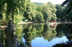 Ancienne orangerie des Hartmann - Français:   Le parc de la Fecht à Munster