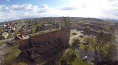 Eglise catholique Sainte-Barbe - English: Eglise Sainte Barbe de Wittenheim