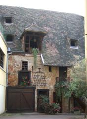 Ancien grenier médiéval - Français:   Colmar