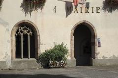 Ancien bâtiment conventuel - Deutsch: Kreuzgang des ehemaligen Benediktinerklosters in Lautenbach im Département Haut-Rhin (Elsass/Frankreich), heute Rathaus (Mairie)
