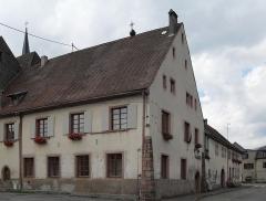 Ancien bâtiment conventuel - Français:   La mairie de Lautenbach