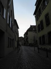 Cour d'Assises - Français:   Rue Berthe-Molly à Colmar (Haut-Rhin, France).