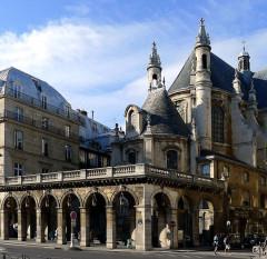 Temple de l'Oratoire du Louvre (ancienne chapelle du couvent de l'Oratoire) - English: Rivoli street - Paris