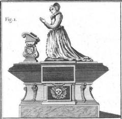 Ancien couvent des Feuillants -  Monument funéraire de Claude de L'Aubespine (1550-1613) dans l'église du couvent des Feuillants de la rue Saint-Honoré.
