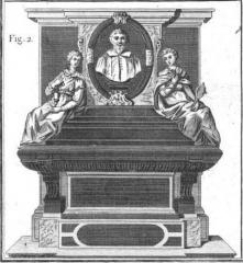 Ancien couvent des Feuillants -  Monument funéraire de Guillaume de Montholon (1569-1621) dans l'église du couvent des Feuillants de la rue Saint-Honoré.