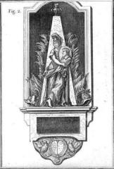 Ancien couvent des Feuillants -  Monument funéraire du maréchal de Marillac dans l'église des Feuillants (Paris).