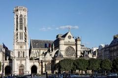 Eglise Saint-Germain-l'Auxerrois -  L'église Saint-Germain l'Auxerrois à Paris.