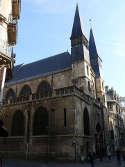 Eglise Saint-Leu-Saint-Gilles - English: Saints Leu and Gilles' church, in Paris (Paris I, France)