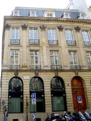 Hôtel Lulli - English: Hôtel Lully - Paris