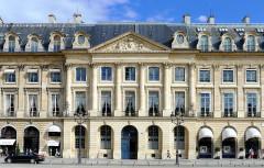 Ancien hôtel Moufle - English: Vendôme place - Paris