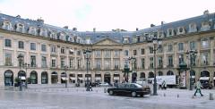 Ancien hôtel Moufle -  Place Vendôme, Paris