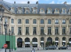 Ancien hôtel de Parabère -  Chanel & Maubaussion, Vendome, Paris, France.