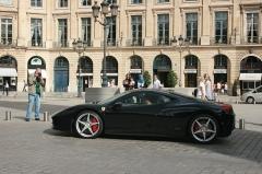 Ancien hôtel de Parabère -  Ferrari Italia in Place Vendome, Paris.