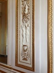 Ancien hôtel Saint-Florentin, puis hôtel de Talleyrand, actuellement consulat des Etats-Unis - Français:   Hôtel de Talleyrand, lambris du pavillon de Louveciennes