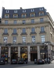 Ancien hôtel de Soyecourt - Deutsch: Hôtel de Soyecourt in Paris, Nr. 3 Place des Victoires