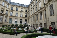 Ancien hôtel de Toulouse -  Garden @ Hôtel de Toulouse @ Banque de France @ Paris