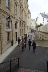 Ancien hôtel de Toulouse -  Rue Radziwill, à hauter du n° 23, Hôtel de Toulouse @ Banque de France @ Paris