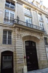 Ancien hôtel de Villeroy ou ancien hôtel de la Poste - Deutsch: 34 rue des Bourdonnais in Paris genannt Hôtel de Villeroy oder Hôtel de la Poste