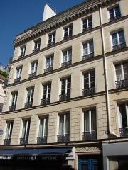Immeuble - Français:   14 rue Bertin-Poirée Paris 1er