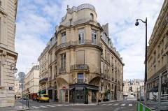 Immeuble - English: Hotel Portalis, rue Croix des Petits Champs, Paris, France