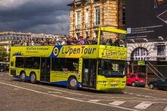 Immeuble -  Neoplan N4426Ü 16 SELT, Navette, Paris l'Open Tour  Bus transport in Paris and Île-de-France.
