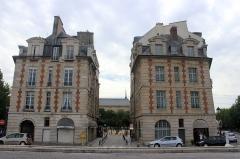 Immeuble - Español: París, Place Dauphine.