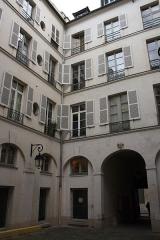 Immeuble abritant le théâtre des Déchargeurs - Deutsch: Haus Nr. 3 rue des Déchargeurs in Paris