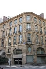 Immeuble - Deutsch: 20, rue Hérold/Ecke 47, rue Étienne-Marcel in Paris