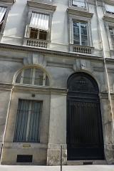 Immeuble, en bordure du Palais-Royal - Deutsch: 10, rue de Montpensier in Paris (1. Arrondissement)