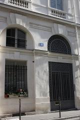 Immeuble, en bordure du Palais-Royal - Deutsch: 14 rue de Montpensier in Paris (1. Arrondissement)