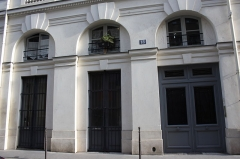 Immeuble, en bordure du Palais-Royal - Deutsch: 18,rue de Montpensier in Paris (1. Arrondissement)