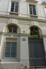 Immeuble, en bordure du Palais-Royal - Deutsch: 34, rue de Montpensier in Paris (1. Arrondissement)