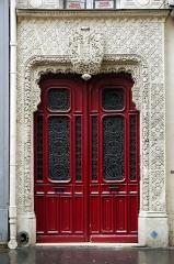 Immeuble mauresque -  Rue de Richelieu.