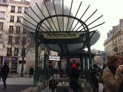 Métropolitain, station Châtelet -  Les Halles, 75001 Paris, France