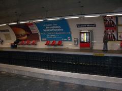 Métropolitain, station Etienne-Marcel -  Station de métro Étienne Marcel