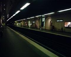 Métropolitain, station Louvre -  Station du Louvre du Métropolitain de Paris.