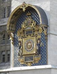 Palais de Justice ou Conciergerie - Horloge de Charles V sise Palais de la Coté à Paris (75).