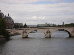 Pont-Royal -  La Seine