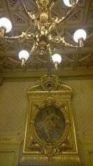 Théâtre du Châtelet -  Le foyer du théatre du Chatelet