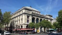 Théâtre du Châtelet - English: Théâtre du Châtelet - Exterior
