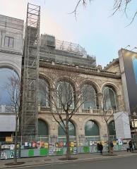 Théâtre du Châtelet - Théâtre du Châtelet en travaux (Paris, 1er).
